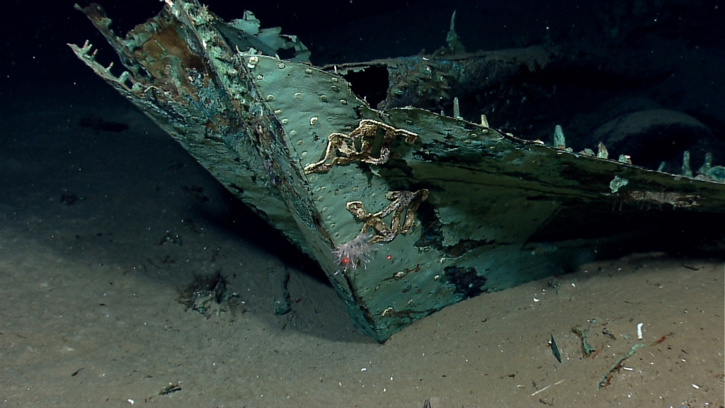 Shipwreck Discovered 4,363 Feet Down In Gulf Of Mexico Called - Texas Gulf Coast Shipwrecks Map