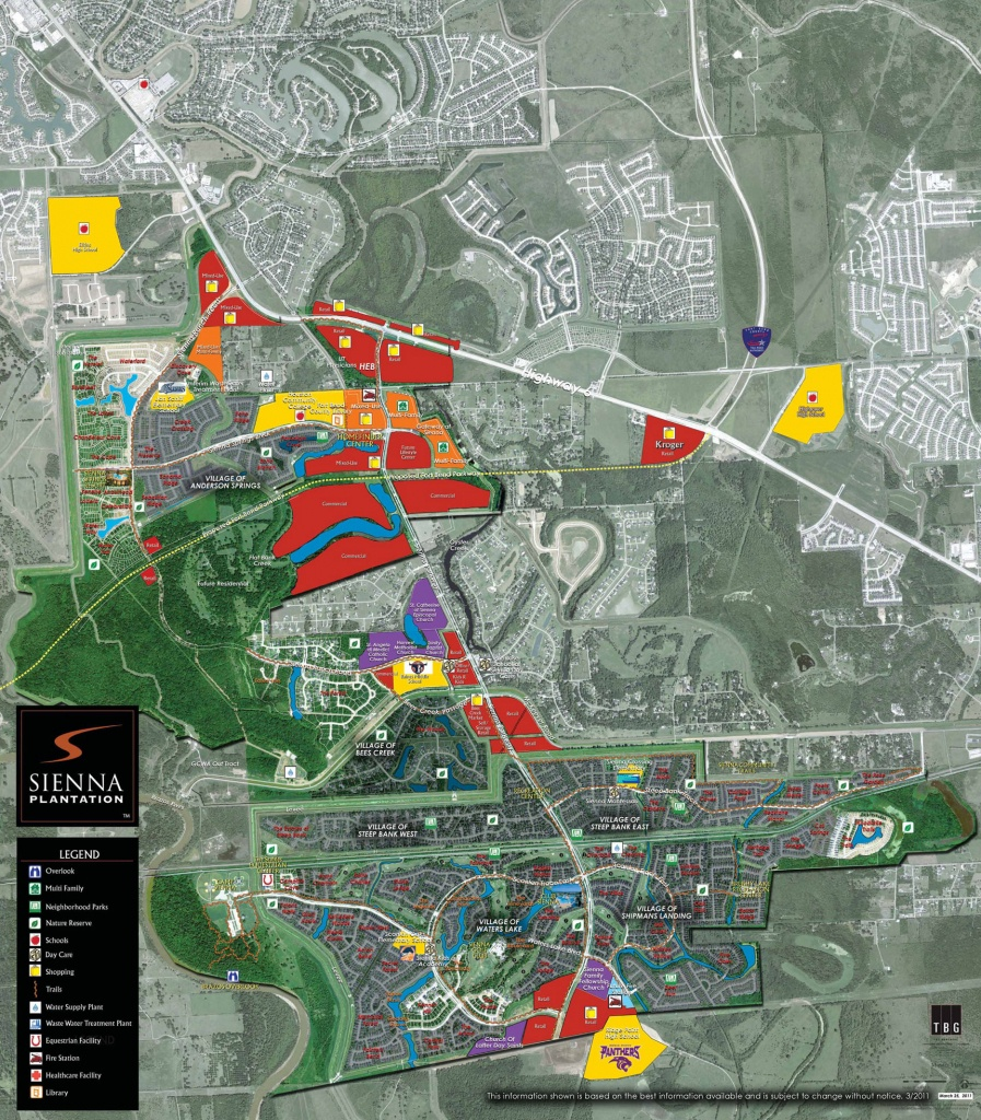 Sienna South | Sienna Plantation Commercial Real Estate | Johnson - Sienna Texas Map