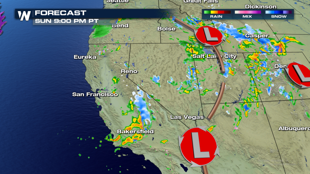 Sierra Snow Continues Through The Weekend - Weathernation - California Snow Map