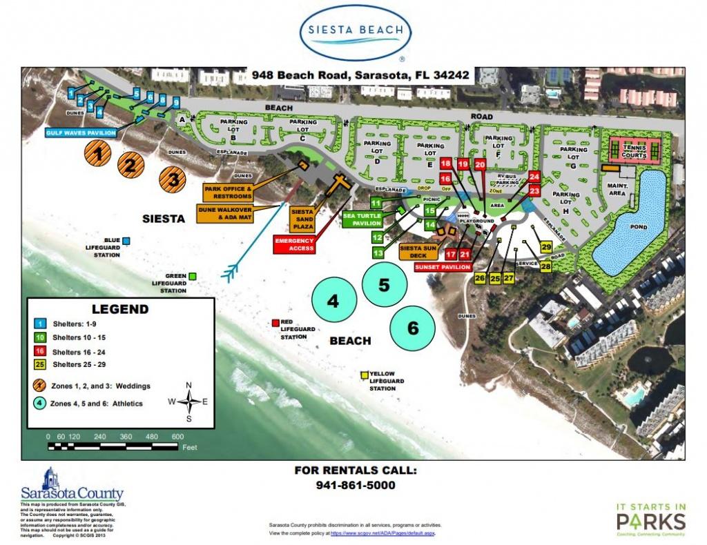 Siesta Key Public Beach Access Information | Rent Siesta Key - Map Of Siesta Key Florida Condos