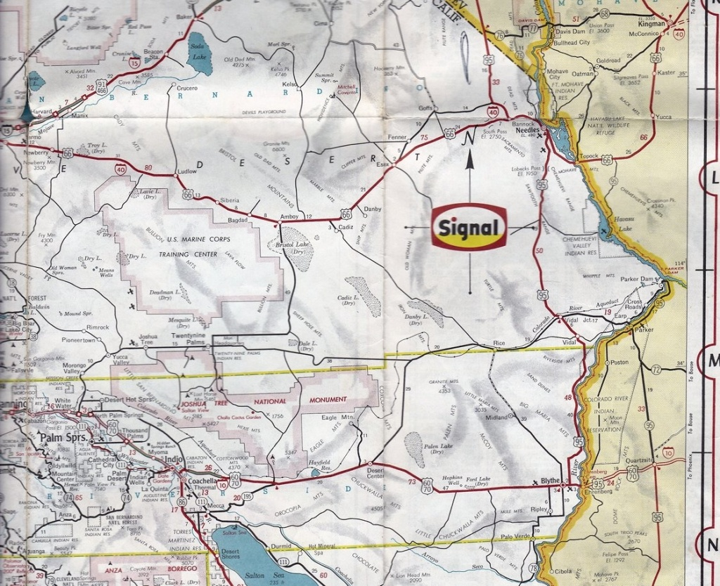 Signal Oil Company Map Of California 1964 | Collectors Weekly - Earp California Map