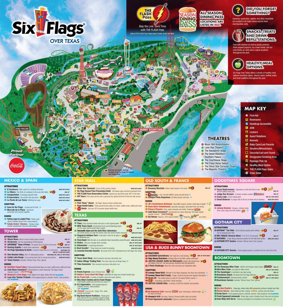 Six Flags Over Texas Map New Fiesta History Of 16 | Sitedesignco - Fiesta Texas Map