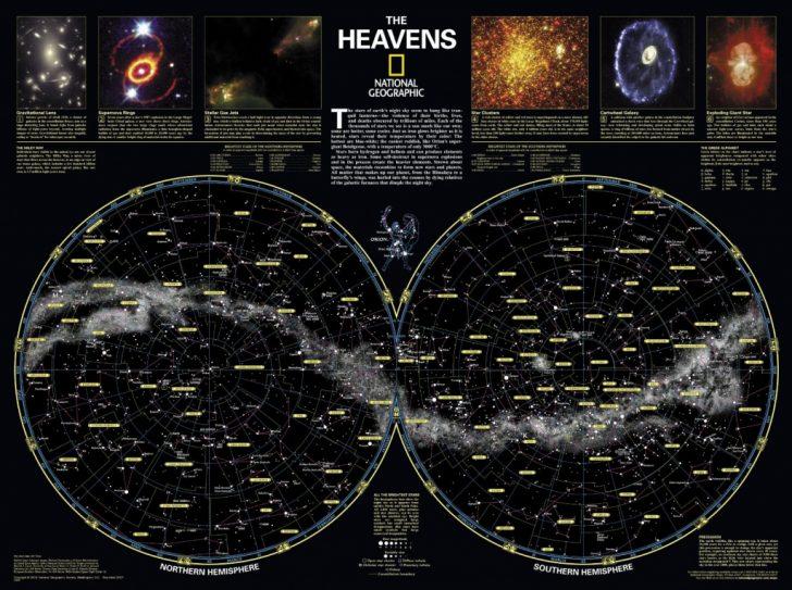 Printable Star Map