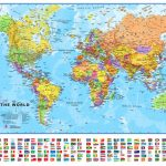 Small Printable World Map | Europe Centred Maps International   Small World Map Printable
