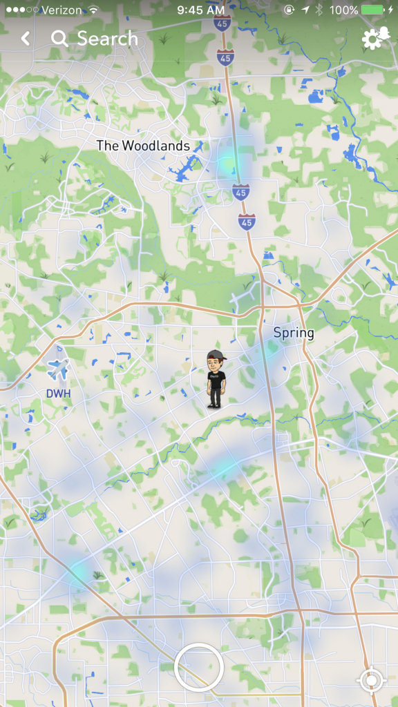 Snapchat's Newest Feature Poses Security Threat To Children - Spring - Child Predator Map Texas