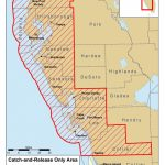 Snook, Redfish And Trout Closures For Parts Of Florida   Peacock Bass Florida Map