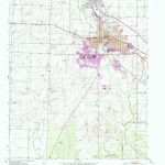 Snyder, Tx Historical Map Geopdf 7.5X7.5 Grid 24000 Scale 1952   Snyder Texas Map