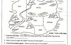 Social Studies Skills | Mr. Proehl's Social Studies Class – Free Printable Map Skills Worksheets
