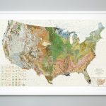Soil Map Of The United States Atlas Of American Agriculture | Etsy   United States Regions Map Printable