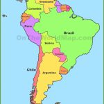 South America Maps | Maps Of South America   Ontheworldmap   Printable Map Of Central And South America