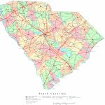South Carolina Printable Map   South Carolina County Map Printable