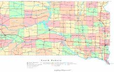 South Dakota Printable Map – Printable Map Of South Dakota