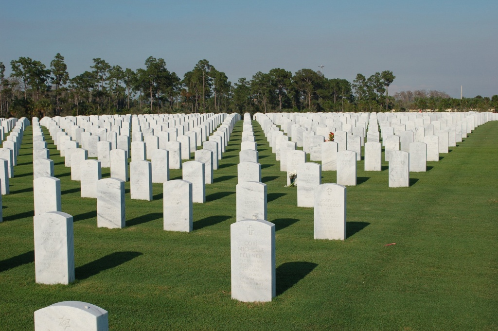 South Florida National Cemetery In Lake Worth, Florida - Find A - Florida National Cemetery Map