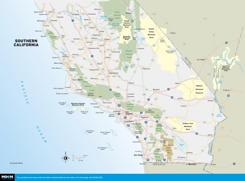 Southern California Freeway Map Touran Beaches Printable Travel Maps - Printable Map Of San Diego