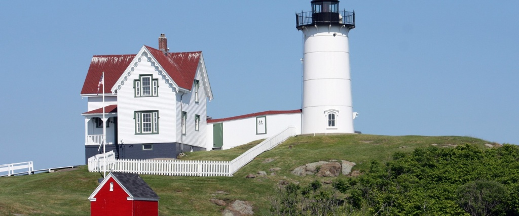 Southern Maine Lighthouses - Printable Map Of Maine Lighthouses