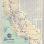 Southern Pacific Company Map Of California And It's Old Railroad   Old Maps Of Southern California