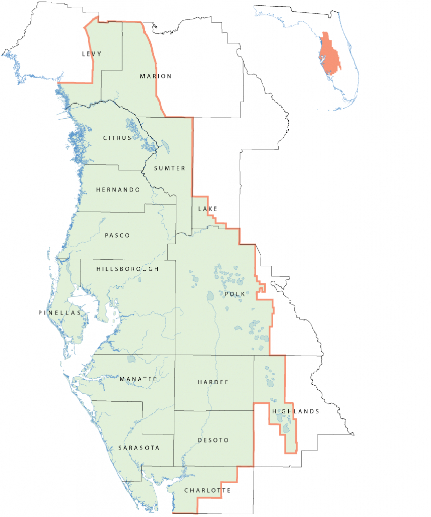 Southwest Florida Water Management District Wise Program - Frla - Northwest Florida Water Management District Map