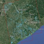 Space Images | New Nasa Satellite Flood Map Of Southeastern Texas   Conroe Texas Flooding Map