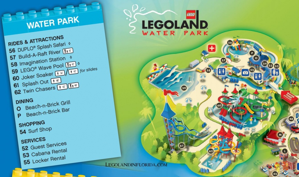 Splash Along To Legoland Florida Water Park - Legoland In Florida - Legoland Florida Park Map