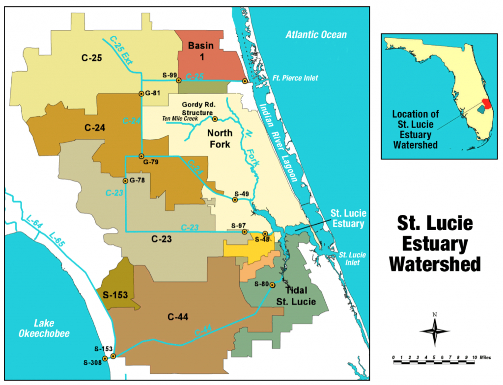 St. Lucie River - Wikipedia - Where Is Ft Pierce Florida On A Map