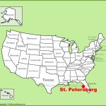St. Petersburg Maps | Florida, U.s. | Maps Of St. Petersburg   St Pete Florida Map