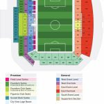 Stadium Seating Map | Los Angeles Football Club   Banc Of California Stadium Map