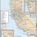 State And County Maps Of California   Northern California County Map