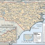 State And County Maps Of North Carolina   Printable Nc County Map