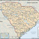 State And County Maps Of South Carolina   South Carolina County Map Printable