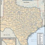 State And County Maps Of Texas   Google Road Map Of Texas