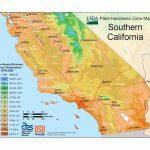 State Maps Of Usda Plant Hardiness Zones   California Zone Map