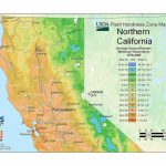 State Maps Of Usda Plant Hardiness Zones – Growing Zone Map California