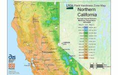 Growing Zone Map California