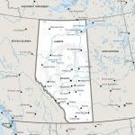 Stock Vector Map Of Alberta | One Stop Map   Printable Map Of Alberta