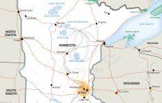Printable Map Of Minnesota