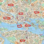 Stockholm City Centre Map And Travel Information | Download Free   Stockholm Tourist Map Printable