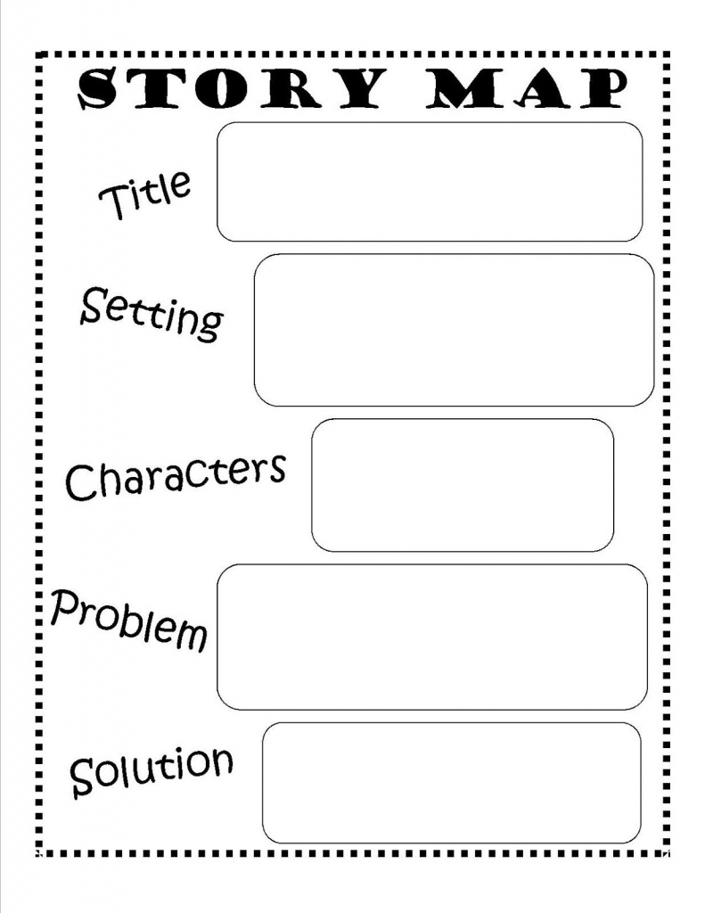 Story Map - Free Printable #reading #writing #kids   Ela   Story Map - Printable Story Map For First Grade