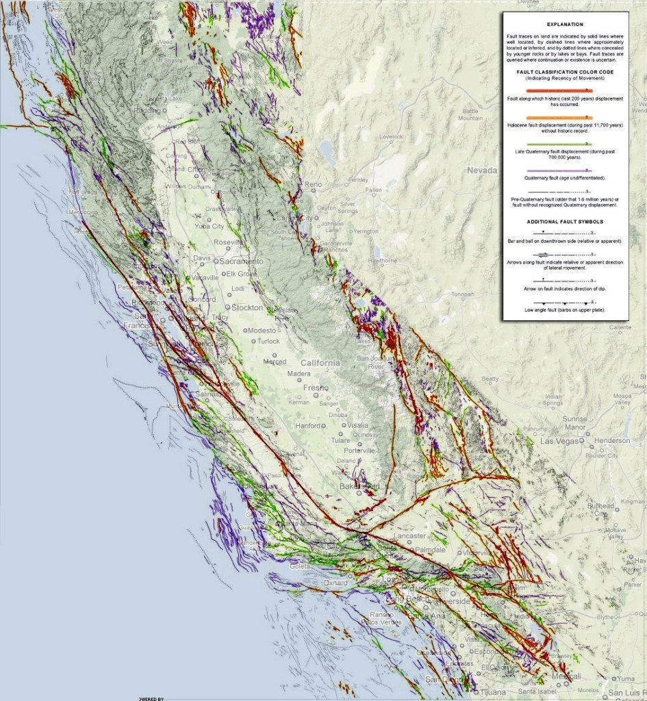 """Strange Sounds On Twitter: """"california Fault Lines Map: Updated Map - California Fault Lines Map"""
