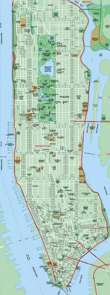 Street Map Of New York City Printable - Printable New York Street - Printable New York Street Map