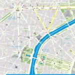 Street Map Of Paris France Printable | World Map   Printable Map Of Paris France