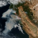 Stunning Satellite Images Of The California Wildfires   Via Satellite     Live Satellite Map California