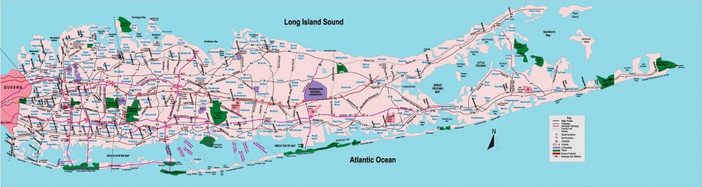 Suffolk County Map With Towns - Map Of Suffolk County Ny Towns (New - Printable Map Of Suffolk County Ny