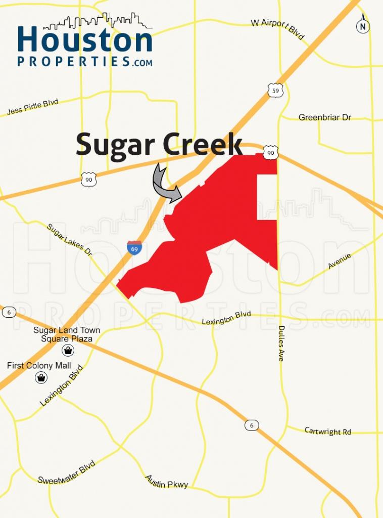 Sugar Creek Sugar Land Tx | Sugar Creek Homes For Sale - Sugar Land Texas Map