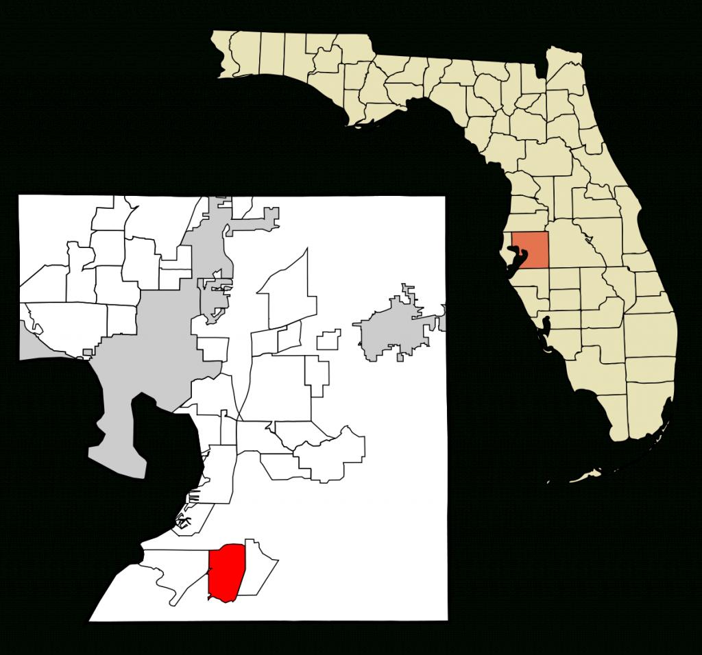 Sun City Center, Florida - Wikipedia - Sun City Florida Map