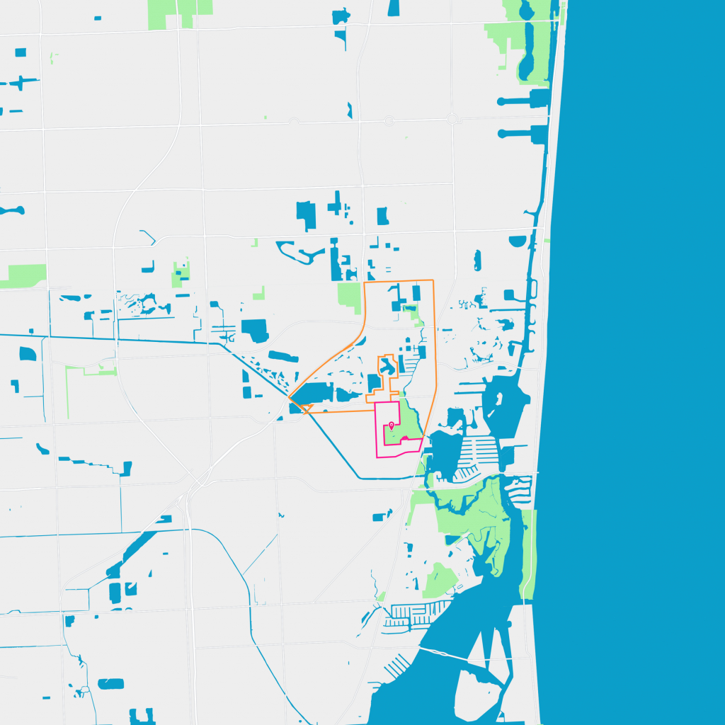 Sunray East Neighborhood Guide - North Miami Beach, Fl | Trulia - Sunny Isles Beach Florida Map