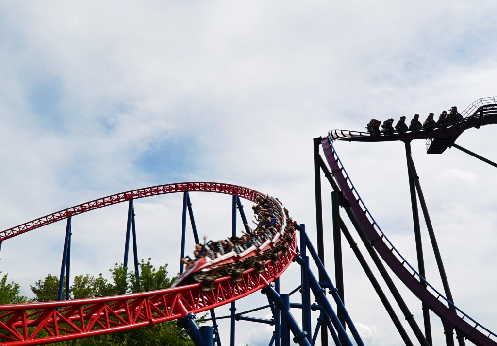Superman™ The Ride | Six Flags New England - Six Flags New England Map Printable