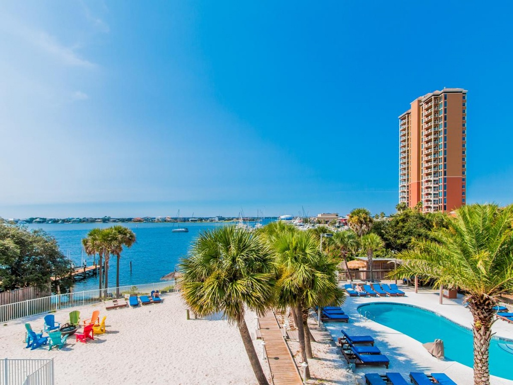 Surf & Sand Hotel, Pensacola Beach, Fl - Booking - Map Of Hotels In Pensacola Florida