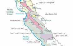Central Coast California Map