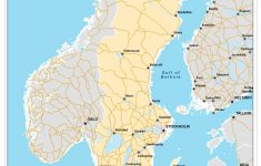Sweden Maps | Printable Maps Of Sweden For Download – Printable Map Of Sweden
