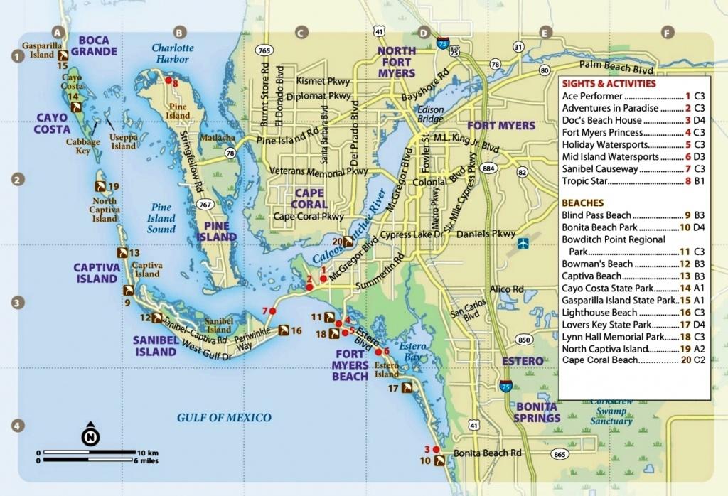 Swine Flu Now In Southwest Florida - Map Of Southwest Florida Beaches